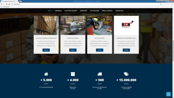 web rodcamp logistica