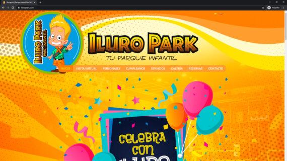 pagina web iluropark - parque infantil