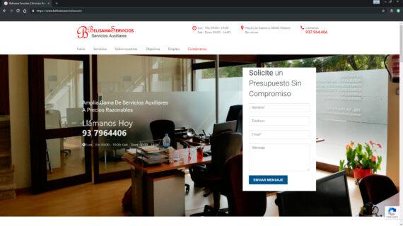 web belisama servicios