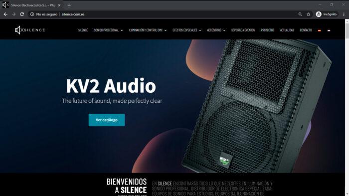 Tienda online de productos sonido, iluminación y efectos especiales