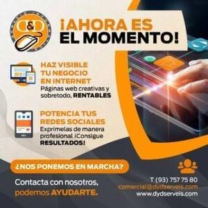 Redes Sociales y Paginas Web en Mataro