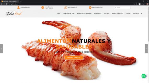 Productos de alimentación y gastronomía